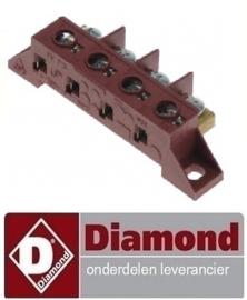 550663.036.00 - AANSLUITBLOK 4 POLIG 40 A DIAMOND