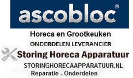ASCOBLOC HORECA EN GROOTKEUKEN APPARATUUR REPARATIE ONDERDELEN