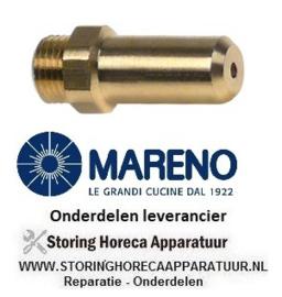 1501491100 - Gasinspuiter boring ø 0,95 mm kantelbare braadpan  MARENO BRG94G