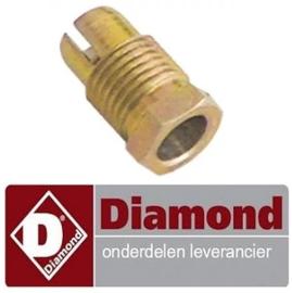 9070C0121 - Schroefconnectie voor thermokoppel gasfornuis DIAMOND G17/4F8T-N