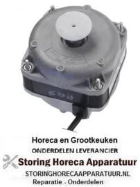 682601930 - Ventilatormotor ELCO 10 - 38 watt 230V 50/60Hz - 1300 - 1550 U/ min lager glijlager