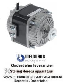 147601050 - Ventilatormotor 34W, 230V, 50-60Hz L  kabellengte 500mm 1300U/min WEIGUANG