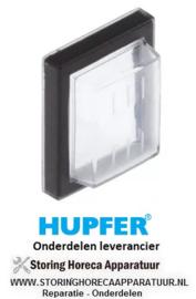 050301036 - Beschermkap binnenmaat 30x22mm voor wipschakelaar HUPFER