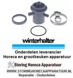 08662003345 - Verdeler set onder wasarm  passend voor glazenvaatwasser WINTERHALTER GS215