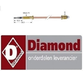 102RTCU700374 - THERMOKOPPEL  DIAMOND G77/2F4T-N