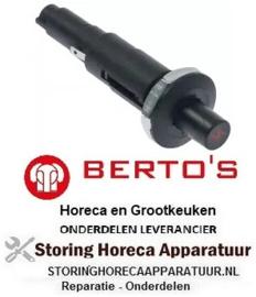154103361 - Piezo-ontsteker inbouw ø 18mm BERTOS