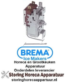 161390588 - Thermostaat RANCO type K50-L3274 voeler ø 2mm capillaire 3000mm instelbereik +1 tot +8,5°C NO BREMA