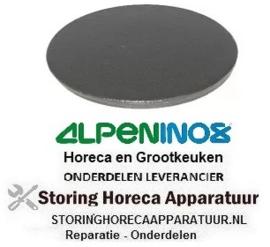 211105012 - Branderdeksel ø 100mm voor gasfornuis ALPENINOX