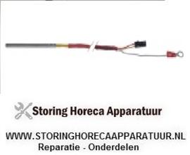 3393397028 - Temperatuurvoeler thermokoppel K (NiCr-Ni) kabel PVC voeler -50 tot +1150°C  Zanussi , Electrolux