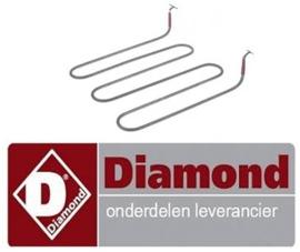 154416700 - Verwarmingselement 1750 Watt - 240 Volt DIAMOND