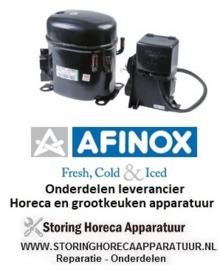 0788R07B55 - Compressor koelmiddel R404a/R507 type NT2180GK 220-240V 50Hz LBP volledig hermetisch 17,3kg 1HP AFINOX