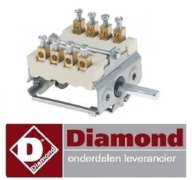 2136.61.037.00 - Nokkenschakelaar pastakoker DIAMOND E65/CP4T(230V/3)
