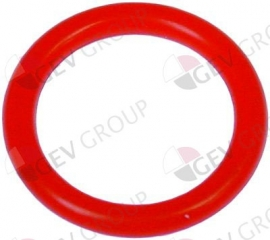 532520 - O-ring silicone materiaaldikte 2,62mm ID ø 15,08mm vpe 1stuk