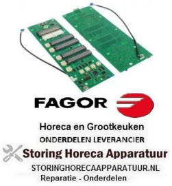554400103 - Bedieningsprintplaat combi-steamer CM 61-202 FAGOR
