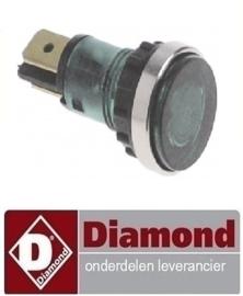 4036..63.043.00 - Signaallamp groen fornuis DIAMOND E65/2VC4T