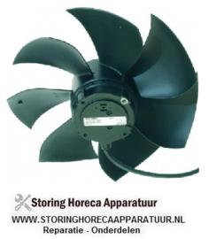 617S0600030 - Ventilatormotor 230V 50-60Hz voor verdamper met ventilatorblad 0,13kW