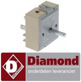 VE117380015 - Energieregelaar 230V voor elektrische stoomgrill DIAMOND VEX87-MF