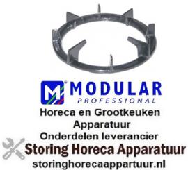 614210114 - Branderrooster ø 380mm passend voor wokbrander MODULAR