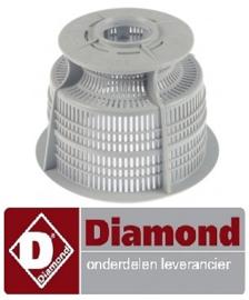 251121081 - Rondfilter afvoer vaatwasser DIAMOND D26EKS-NP