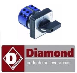 ST3A96ZN00037 - HOOFD NOKKEN SCHAKELAAR TF-TR DIAMOND