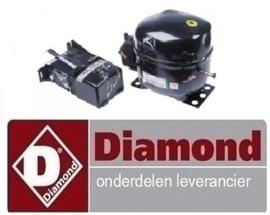 125.R09.3C-E921.3GK - Compressor koelmiddel R404a DIAMOND MY25/A1