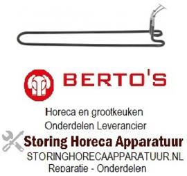 554420593 - Verwarmingselement 1600 Watt 230 V voor Bertos braadpan