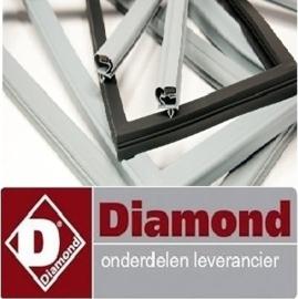 595H25-0030 - Deurrubber voor koelwerkbank TG3N-NE DIAMOND