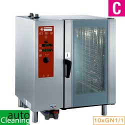 SDE/10-CL - Elektrische oven, directe stoom en convectie, 10xGN1/1+Cleaning DIAMOND