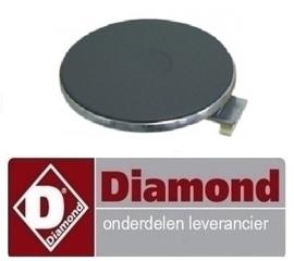 014.665.059.00 - Kookplaat elektrische fornuis DIAMOND E60/4P6T