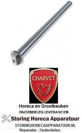 151109114 - Staafbrander 1-rij voor kantel braadpan CHARVET