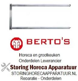 VE488415311 - Kwartselement 1000 Watt 230 Volt voor Toaster BERTOS