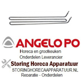 801416597 - Verwarmingselement 2000W 230V voor Angelo Po braadpan
