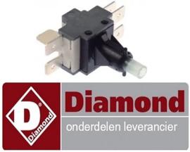 85180804 - Schakelaar voor kap vaatwasser DIAMOND