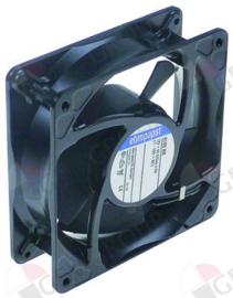 601121 - Ventilatormotor axiaalventilator L 119mm B 119mm H 38mm 12VDC 4,5W lager kogellager fabrikant nr. 4182NX metaal