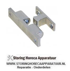 127690107 - Snapslot L 60mm bevestigingsafstand 49mm compleet met deursluiting