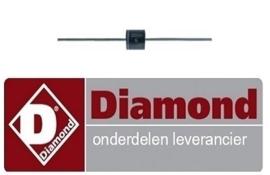 678A18027 - DIODE VOOR COMMUTATOR DIAMOND KEB-G41, KEB-G61, G61, KEB-G81