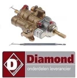 254168005 - Gasthermostaat bakplaat 100-300°C DIAMOND G99/PLA2-N