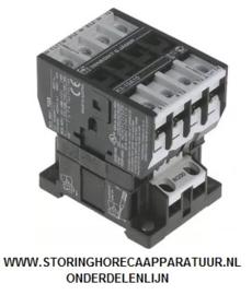 ST1088477 - Relais - Magneetschakelaar AC1 25A 230VAC (AC3/400V) 10A/4kW hoofdcontact 3NO hulpcontact 1NO