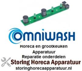 448403121 - Bedieningsprint vaatwasser knoppen 3 Omniwash