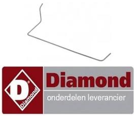 4890C9552 - Waakvlamleiding pijp voor gasfornuis DIAMOND G17/4F8T-N