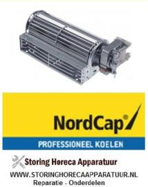 6011013700228 - Dwarsstroomventilator rol ø 60mm wals L 180mm NordCap KU 380
