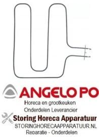 717416677 - Verwarmingselement 2600W 400V voor oven Angelo Po