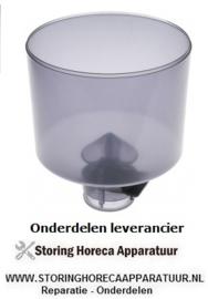 345527334 - Koffiebonencontainer ø 185mm H 211mm afname ø 65mm