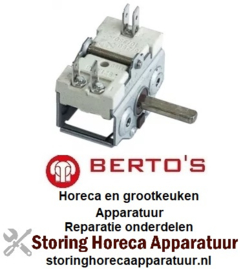 023345670 - Nokkenschakelaar 3 schakelstanden voor BERTOS