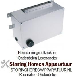 048418864 - Verwarmings unit voor warmtekast 2000W 230V 50Hz  0 tot +80°C