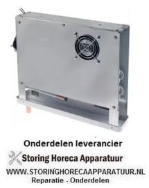 148750438 - Verdamper L 350mm H 295mm dikte 70mm inbouwpositie gecentreerd 110m³/h - 1,5m/s