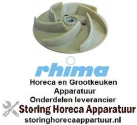 168510834 - Pompschoep ø 110mm H 29mm draad M8R passend voor RHIMA
