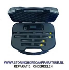 ST1801443 - Temperatuurmeterset TC-9218 met betterij oppervlakte-, lucht, vloeistof-, insteekvoeler