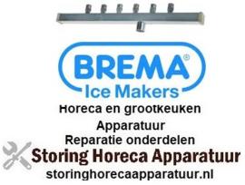 198695483 - Spoelarm L 330mm sproeiers 6 voor ijsblokjestype A - BREMA