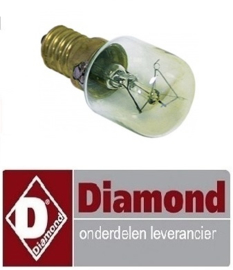 54591310191 - LAMP PIZZA OVEN 25W - 240V  DIAMOND